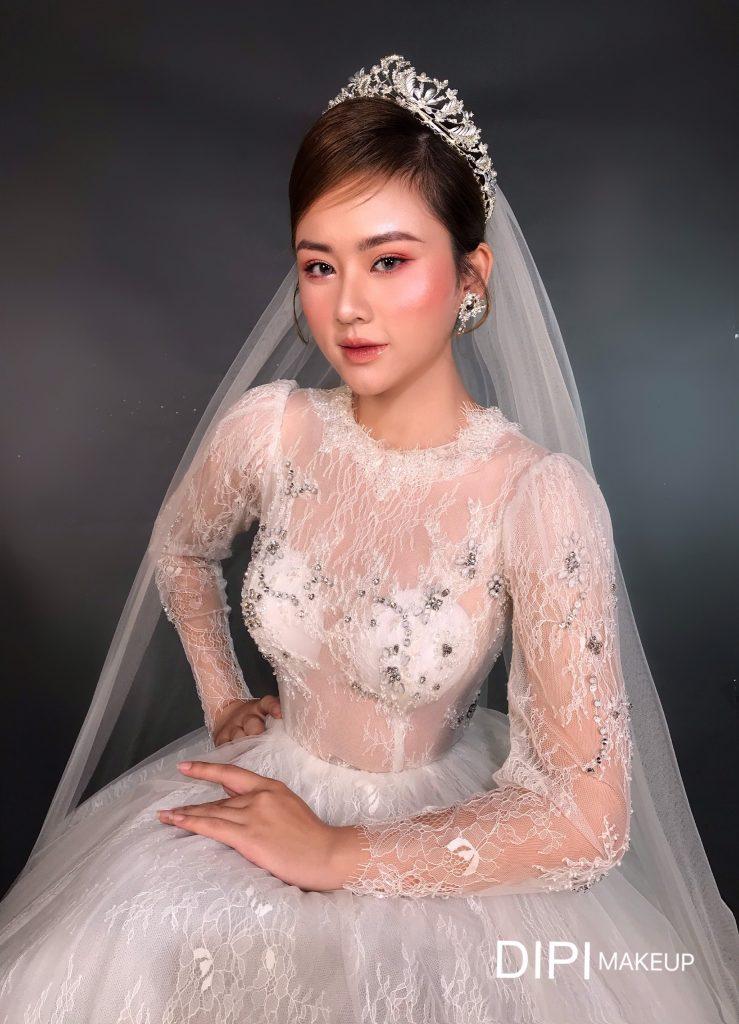 Makeup cô dâu tại nhà